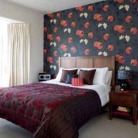 rood behang slaapkamer ~ lactate for ., Deco ideeën